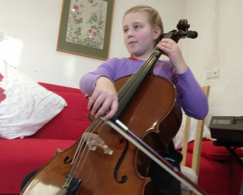 Cello Lesson